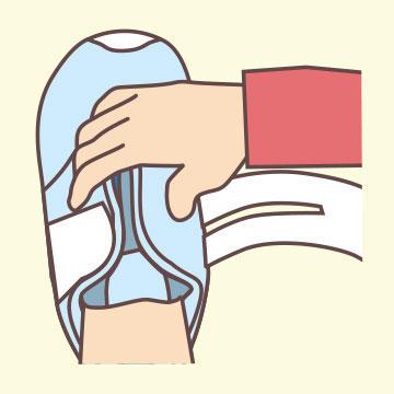 靴の履き方3