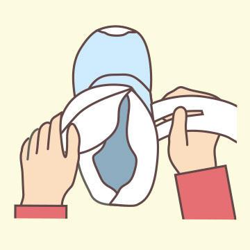 靴の履き方1